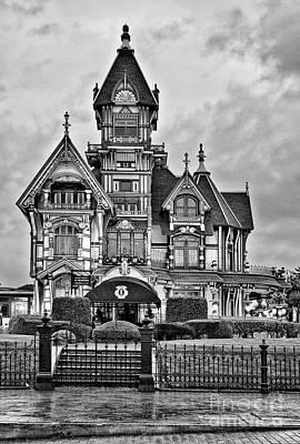 Carson Mansion Photograph - The Carson Mansion by Jamie Pham