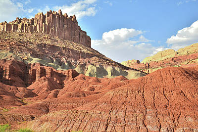 Photograph - The Castle Of Capitol Reef by Ray Mathis