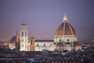 The Cattedrale Di Santa Maria Del Fiore, Italy Art Print by David Ortega Baglietto