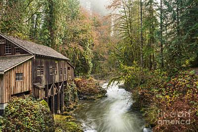The Cedar Creek Grist Mill In Washington State. Art Print