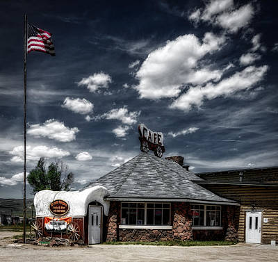 Chuck Wagon Photograph - The Chuck Wagon Cafe by Mountain Dreams