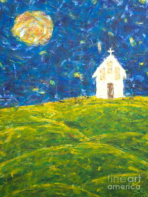 Painting - The Church At Newberg by Scott Gearheart