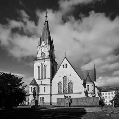Pop Art Rights Managed Images - The Church of Kemi Royalty-Free Image by Jouko Lehto