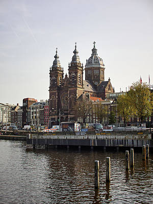 Photograph - The Church Of Sant Nicholas. Amsterdam by Jouko Lehto