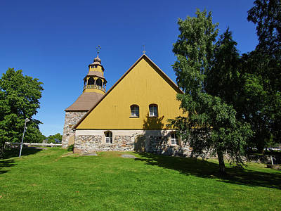 Photograph - The Church Of Uusikaupunki by Jouko Lehto