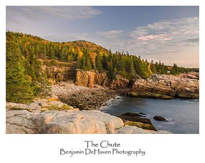 Ocean Photograph - The Chute by Benjamin DeHaven