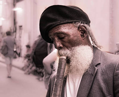 Photograph - The Cigar Man by Paki O'Meara