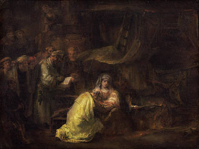 Christ Child Painting - The Circumcision by Rembrandt van Rijn