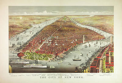 Photograph - The City Of New York by Dale Powell