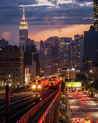Photograph - The City That Never Sleeps by Anthony Fields