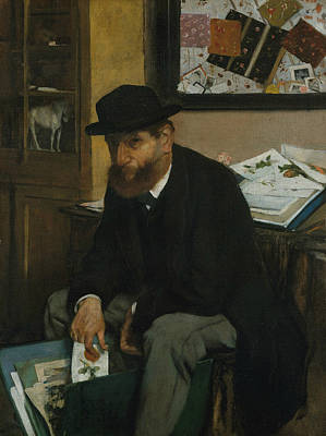 Painting - The Collector Of Prints by Edgar Degas