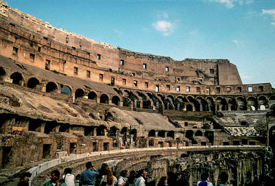 Colliseum Photograph - The Colliseum by VSP Images