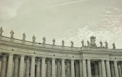 Photograph - The Colonnades Saints by JAMART Photography