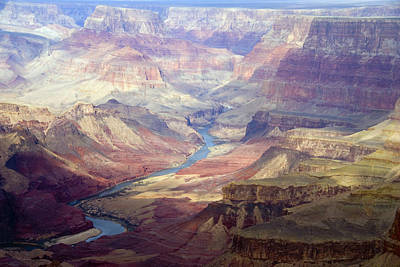 The Colorado River And The Grand Canyon Art Print