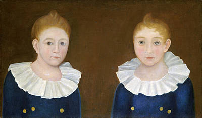 Painting - The Congdon Brothers by American 19th Century