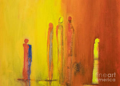 Painting - The Conversation by Gallery Messina