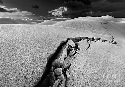 Sand Dune Photograph - The Crack Of Dawn by Julian Cook