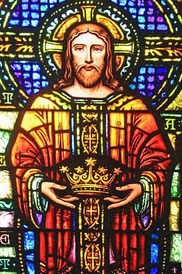 Christian Artwork Digital Art - The Crown by Munir Alawi