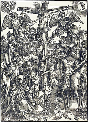 Drawing - The Crucifixion by Albrecht Durer