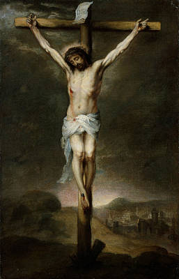Painting - The Crucifixion by Bartolome Esteban Murillo