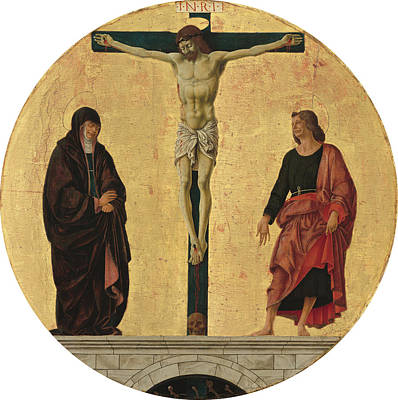 Painting - The Crucifixion by Francesco Del Cossa