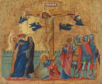 Painting - The Crucifixion by Paolo Veneziano