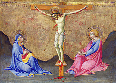 Painting - The Crucifixion by Sano di Pietro
