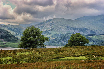 English Scene Photograph - The Cumbrian Hills by Martin Newman