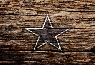 The Dallas Cowboys 3b Art Print by Brian Reaves