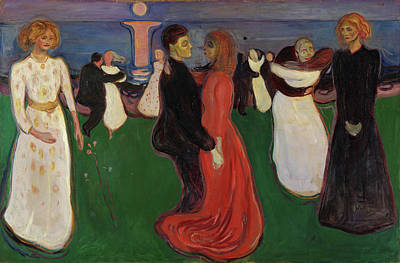 Expressionist Painting - The Dance Of Life by Edvard Munch