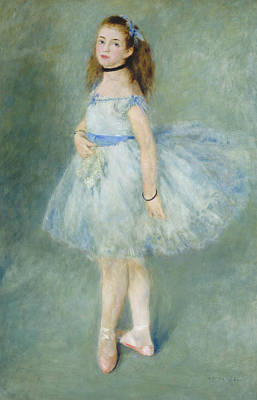 Painting - The Dancer by Auguste Renoir