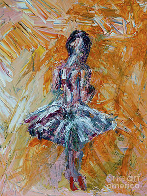 Overcoming Painting - The Dancer by Robert Yaeger