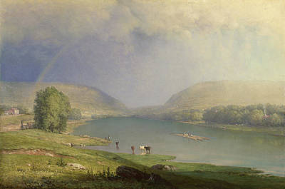 Cattle Painting - The Delaware Water Gap by George Inness