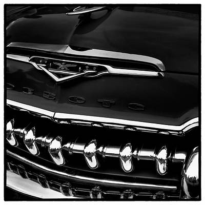 Chrome Grill Photograph - The Desoto by David Patterson