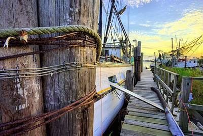 Photograph - The Docks Of Bon Secour by JC Findley