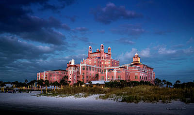 Photograph - The Don Cesar Resort by Marvin Spates