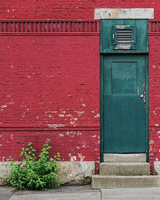 Photograph - The Door by Brad Wenskoski