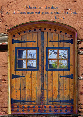 Photograph - The Door by Larry Bishop
