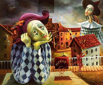 The Dreamer Print by Igor Postash