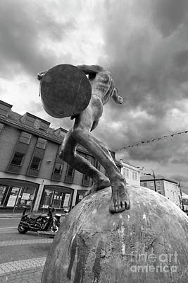 Photograph - The Drummer Lemon Quay Truro by Terri Waters