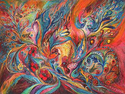 The Duel  Art Print by Elena Kotliarker