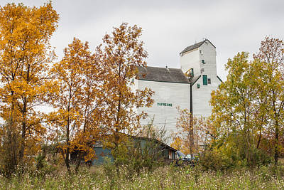 Photograph - The Dufresne Grain Elevator by Steve Boyko
