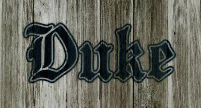 The Duke Blue Devils 1a Art Print by Brian Reaves
