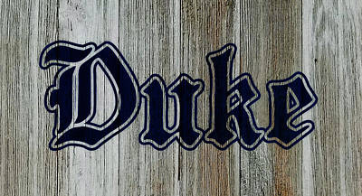 The Duke Blue Devils 1d Art Print by Brian Reaves