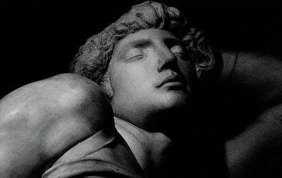 Marble Eyes Photograph - The Dying Slave by Michelangelo Buonarroti