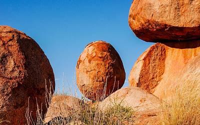 Photograph - The Egg - Karlu Karlu - Devils Marbles, Northern Territory by Lexa Harpell
