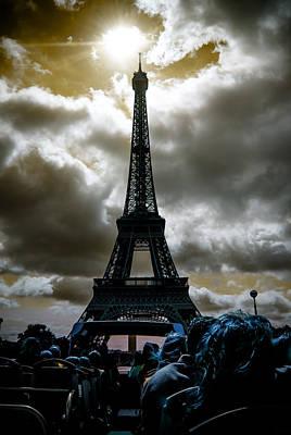 Draw Pyrography - The Eiffel Tower by Artistic Panda