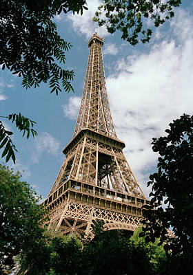 The Eiffel Tower, Paris Art Print by Martin Diebel