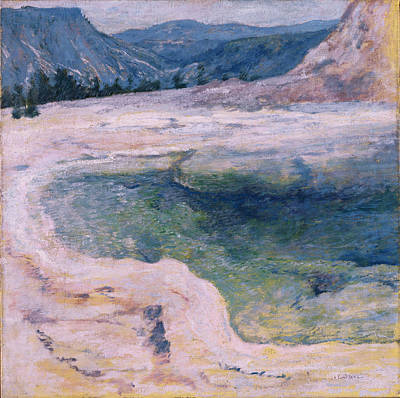 Painting - The Emerald Pool by John Henry Twachtman