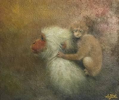 Animal Painting - The Empty Sky by Hiroyuki Suzuki